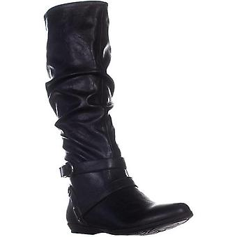Cliffs by White Mountain Womens Fairfield Almond Toe Mid-Calf Fashion Boots
