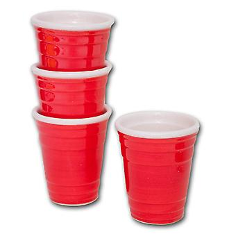 Red Solo Cup Shooters (Set of 4)