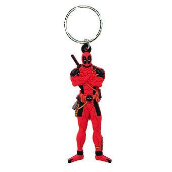 Deadpool figurina portachiavi