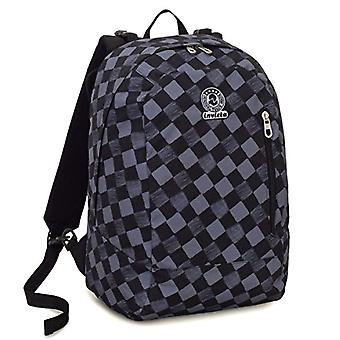 Backpack 2in1 Reversible Invicta Twist - GEOMETRIC - Black - 26 Lt - Fantasy - United Color