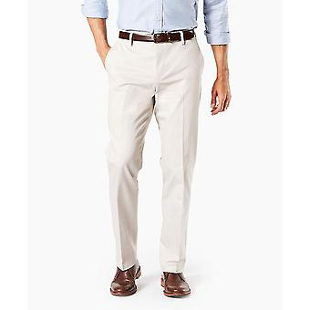 Dockers Men-apos;s Straight Fit Signature Khaki Lux, Cloud - Creased, Taille 36W x 30L