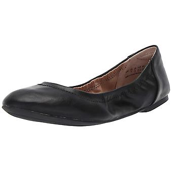 Amazon Essentials kvinner ' s ballett flat, svart, 10 B US, svart, størrelse 10,0