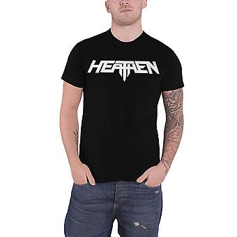 Heathen T Shirt Band Logo new Official Mens Black
