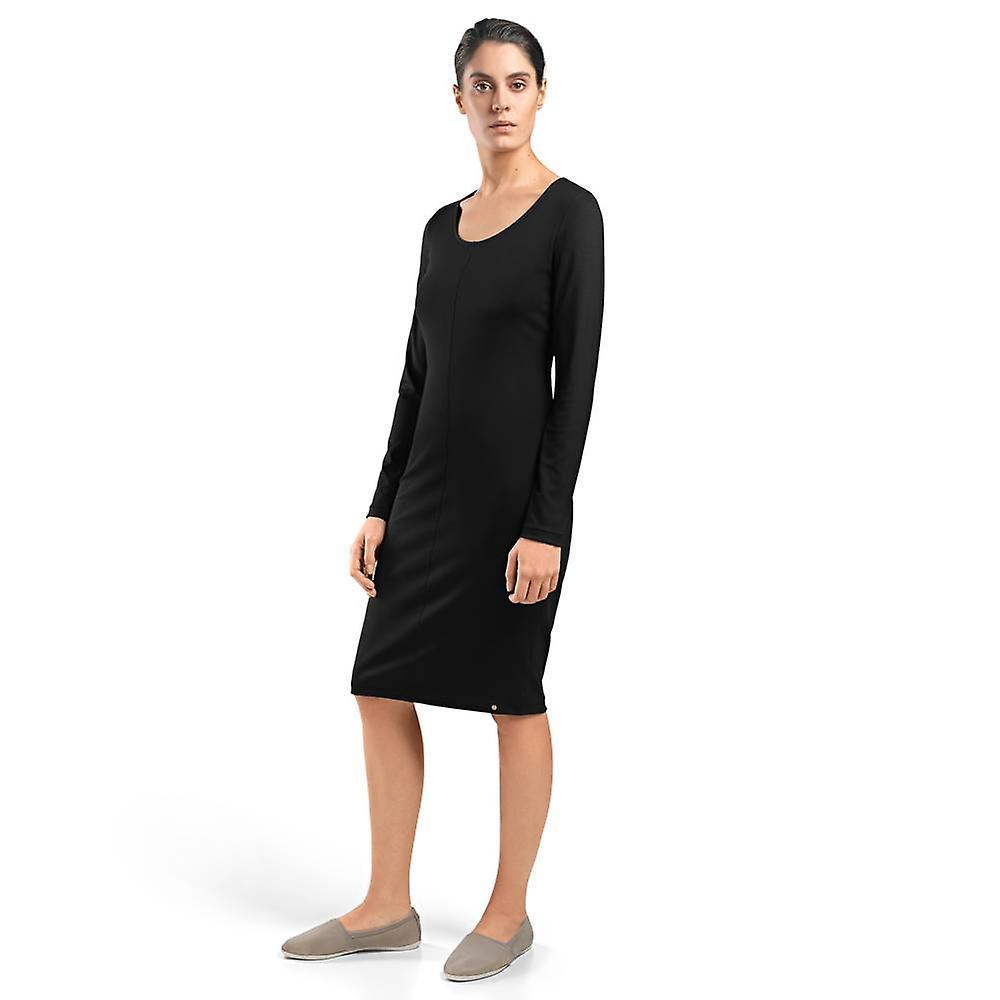 Hanro Dames Kleding Knits jurk zwart 78377