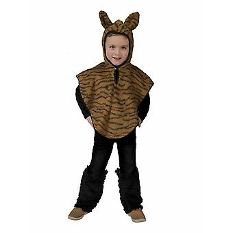 Tiger Kinderkostüm Raubkatze Indien Tigercape Kostüm Kinder Karneval Tierkostüm
