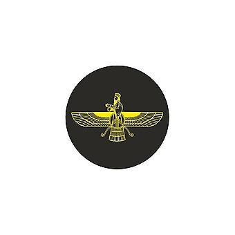 Naklejka naklejka samochód motocykl winylowy flaga faravahar zoroastrianism