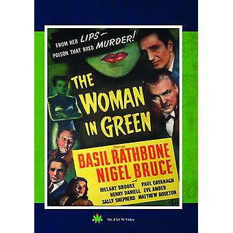 Sherlock Holmes: Woman in Green [DVD] USA import