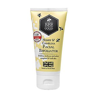 Bee goede honing & camelinaolie Facial washand in één 50ml