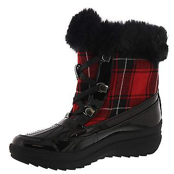Anne Klein Womens Gayla Round Toe Mid-Calf Cold Weather Boots