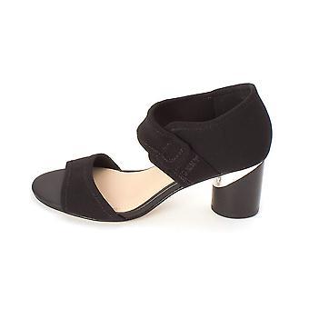 DKNY vrouwen Penny stof open teen casual enkelband sandalen