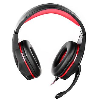 Gaming Headset with mic - ART hero - red - USB