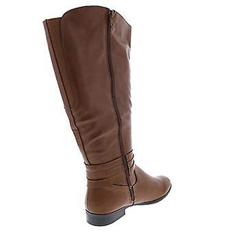 شركة & نمط كيبورب النسائية المغلقة تو الركبة عالية أزياء أحذية