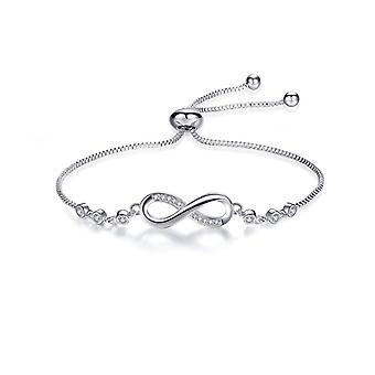 Crystal Infinity vriendschap armband