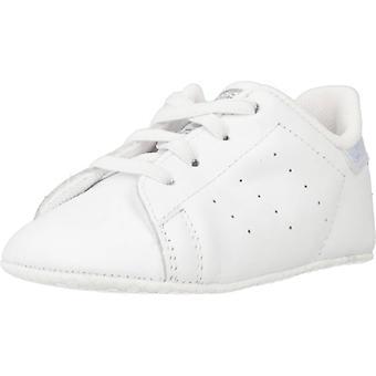 Adidas Originali Scarpe Stan Smith Crib Colore Ftwbla