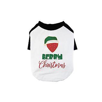 Berry Christmas Cute BKWT Pets Baseball Shirt X-mas Present