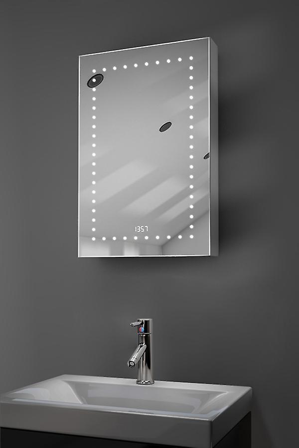 Elora horloge LED Cabinet avec désembuage Pad, capteur & rasoir k383
