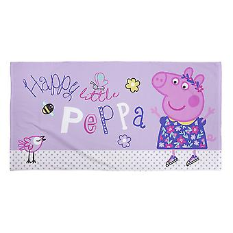Peppa Pig Official Childrens/Kids Happy Towel