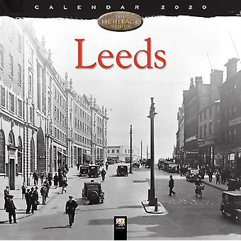 Leeds Heritage Wandkalender 2020 Kunstkalender von Created by Flame Tree Studio
