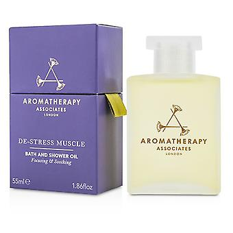 Aromatherapy Associates De-stress - Muscle Bath & Shower Oil - 55ml/1.86oz
