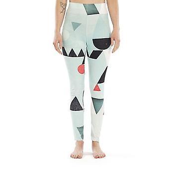 Abstrakt mönster legging