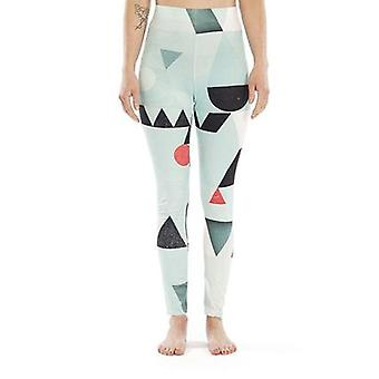 Abstract pattern legging
