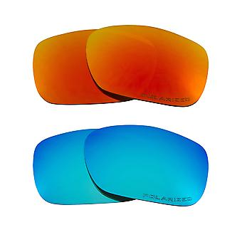 Polarized Replacement Lenses for Oakley Twoface Sunglasses Anti-Scratch Anti-Glare UV400 by SeekOptics