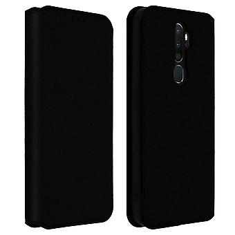 Slim Case, Classic Edition stand case with card slot Oppo A9 2020 /A5 2020 Black