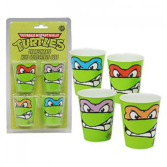 TMNT 4-Pack Shot Glass Set