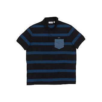 Men's Lacoste short-sleeved polo shirt