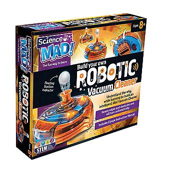 Science Mad Build Your Own Robotic Vacuum Cleaner Ages 8 Years+