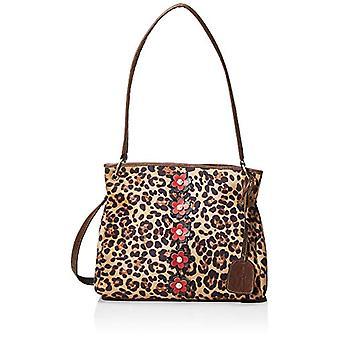 Laura Vita 2977 - Brown Women's Tote Bags (Braun (Camel)) 13x28x34 cm (B x H T)