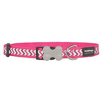 Red Dingo Collar Reflectante Ziggy Fucsia XL