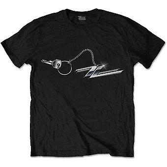 ZZ Top Hod Rod Keychain Oficial Tee T-Shirt Mens Unsex