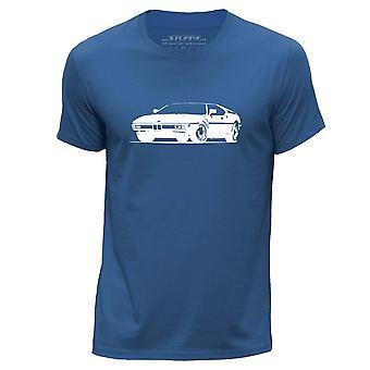 STUFF4 גברים ' s צוואר עגול חולצת טריקו/שבלונית אמנות/M1 E26/כחול מלכותי