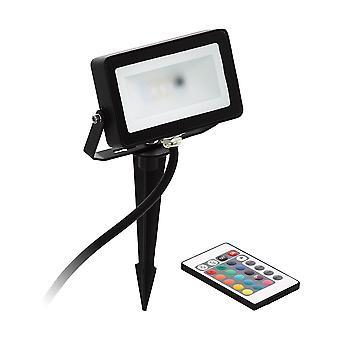 Eglo Faedo 4 - LED Outdoor Spike Light Black IP44 - EG98185