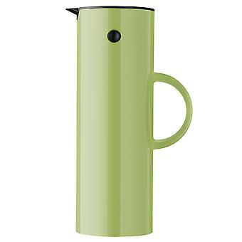 Stelton EM77 isolerenkan 1 liter appelgroen / appelgroen thermoskan