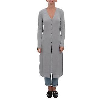 Hemisphere 1924635900 Women's Grey Wool Cardigan