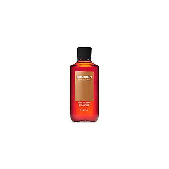 (2 حزمة) حمام والجسم يعمل بوربون 2 في 1 الشعر + غسل الجسم 10 أوقية fl / 295 مل