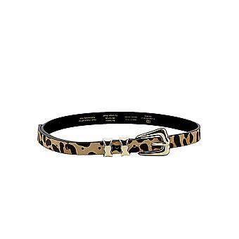 B-low Bæltet Bt7809000hr Women's Leopard Pony Skin Belt