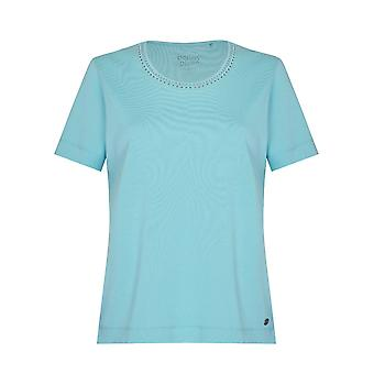 PENNY PLAIN Turquoise Nail Head Top