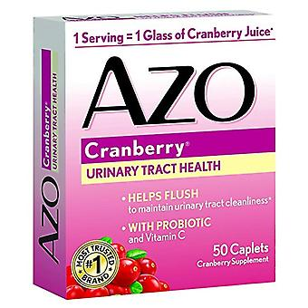 Azo urinary tract health, cranberry supplement, 50 ea
