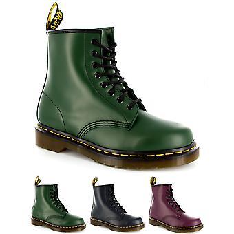 Womens Dr Martens 1460Z 8 oeillets en cuir lisse Lace Up Boot Army Combat
