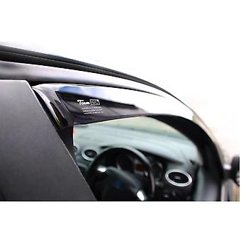 Front And Rear Heko Deflectors For Skoda OCTAVIA Combi 2012-2018