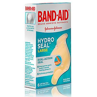 Band-aid hydro seal bandages, large, one size, 6 ea