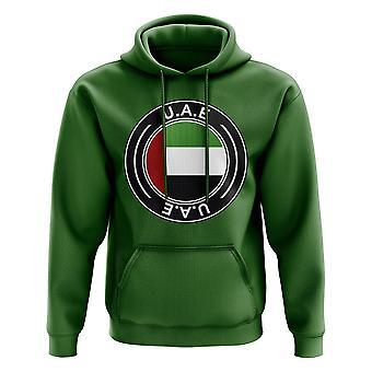 UAE fotball merke hettegenser (grønn)