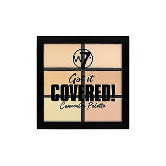 W7 Got It Covered Concealer Paleta
