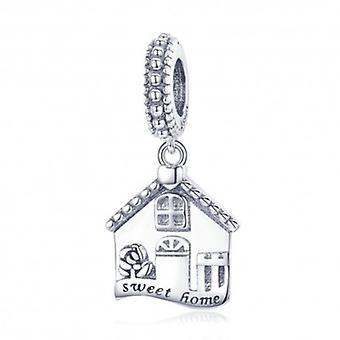 Sterling Silver Pendant Charm Sweet Home - 5907