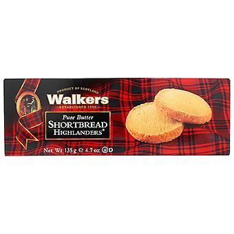 Walkers Shortbread Pure Butter Shortbread Highlanders ( 12 - 4.7 oz boxes)