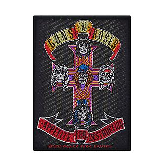 Guns N' Roses Appetite Woven Patch
