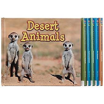 Animals in their Habitats, Pack A of 6
